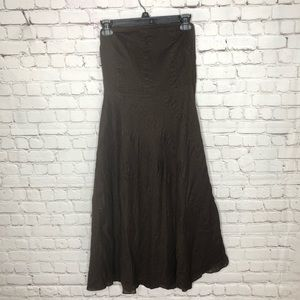 J. Crew Strapless Fit And Flare Dress